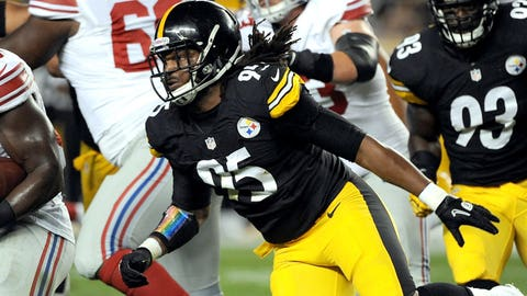 Pittsburgh Steelers LB Jarvis Jones