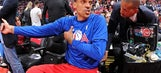 Barnes reportedly apologizes to Harden's mom for what he said