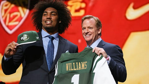 USC DE Leonard Williams; Jets (1st Round, 6th overall)