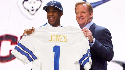 Grading The Cowboys' 2015 Draft Picks