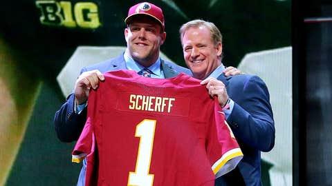 Redskins OL Brandon Scherff