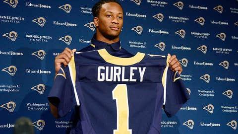 Rams RB Todd Gurley