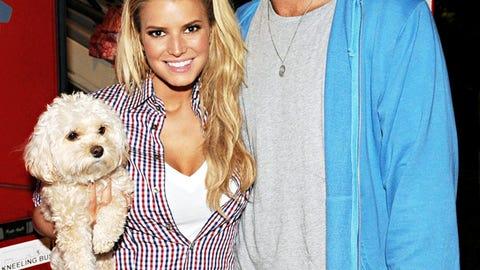 Tony Romo & Jessica Simpson