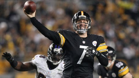 9. Pittsburgh Steelers -- Ben Roethlisberger