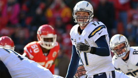 San Diego quarterback Philip Rivers