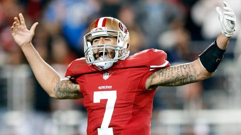 19. San Francisco 49ers -- Colin Kaepernick
