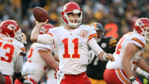23. Kansas City Chiefs -- Alex Smith