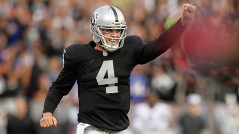 24. Oakland Raiders -- Derek Carr