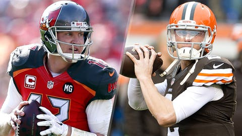 25. Cleveland Browns -- Josh McCown and Johnny Manziel