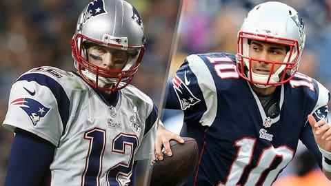 4. New England Patriots -- Tom Brady and Jimmy Garoppolo