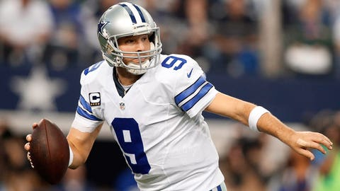 5. Tony Romo -- Dallas Cowboys