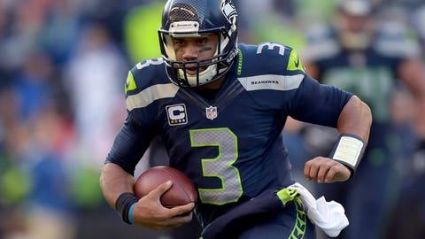 8. Seattle Seahawks -- Russell Wilson