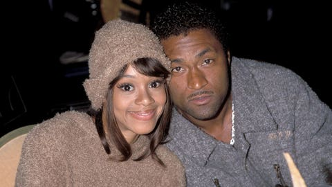 Andre Rison & Lisa 'Left Eye' Lopes