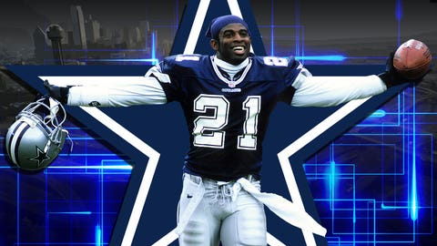 CB Deion Sanders (1995 Cowboys)