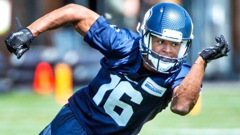 Seahawks WR Tyler Lockett