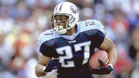 2000-01 season: Eddie George, RB, Titans (2001 cover)