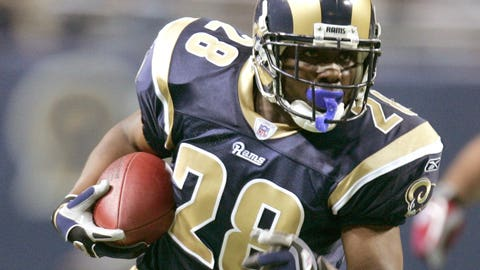 2002-03 season: Marshall Faulk, RB, Rams (2003 cover)