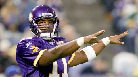 2001-02 season: Daunte Culpepper, QB, Vikings (2002 cover)