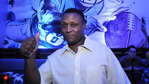 2013-14: Barry Sanders (retired, 2014 cover)
