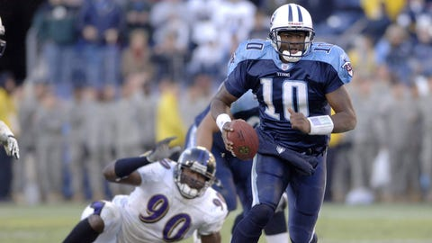 2007-08: Vince Young, QB, Titans (2008 cover)