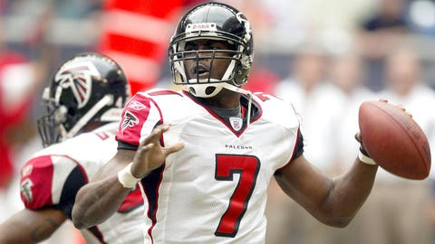 2001: Michael Vick, QB, Virginia Tech, Atlanta Falcons