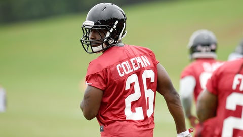 Who gets the nod: Tevin Coleman of Devonta Freeman?