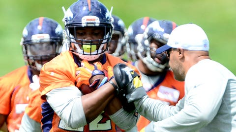 Is C.J. Anderson really a lead back for the Broncos?