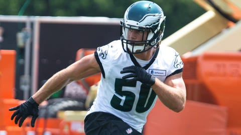 Who will emerge as the Eagles' starting ILBs?