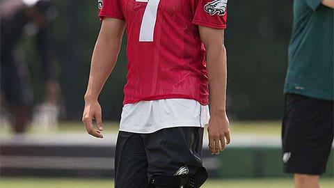 Philadelphia quarterback Sam Bradford