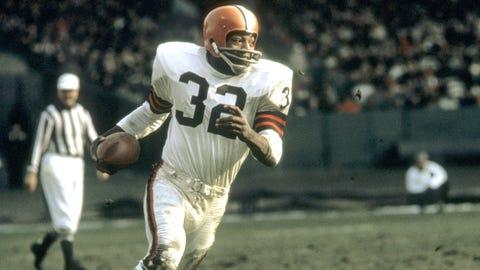 Jim Brown, RB