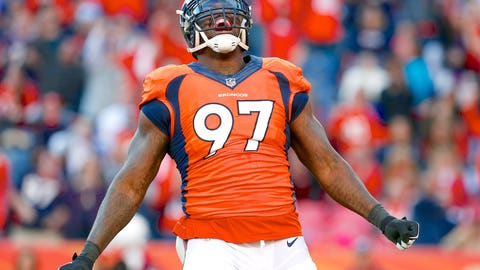 Denver defensive end Malik Jackson