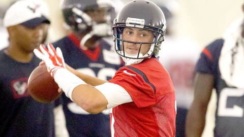 Texans QB Brian Hoyer, $5.25 million