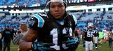 Kelvin Benjamin needs MRI after being carted off with 'sprained' knee