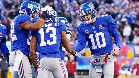 New York Giants: 8.5