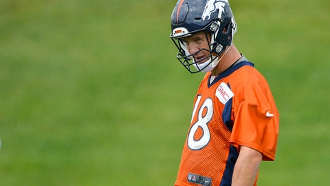 Is Peyton Manning's run of greatness coming to a end?