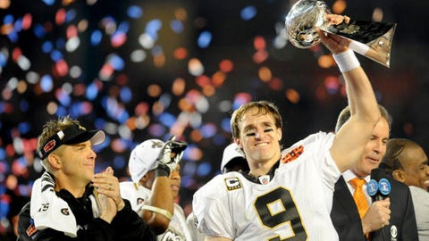 Super Bowl XLIV: Drew Brees vs. Peyton Manning