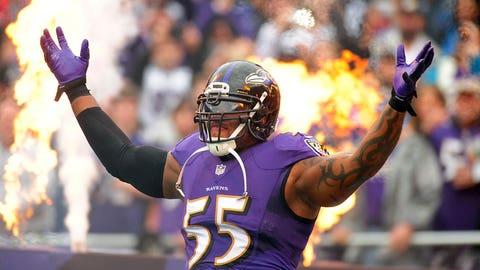 OLB: Terrell Suggs, Ravens (32)