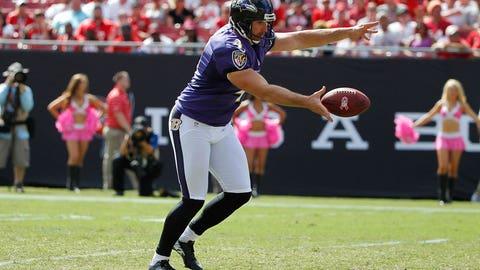 P: Sam Koch, Ravens (32)