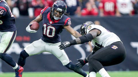 Houston: Who emerges at WR following Andre Johnson's release?
