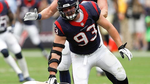 Houston: Defensive end Jared Crick