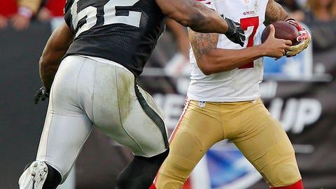 Oakland: Outside linebacker Khalil Mack