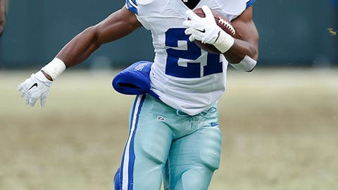 NFC EAST -- Dallas: Running back Joseph Randle