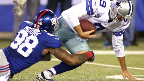 Who will take Jason Pierre-Paul's snaps at RDE?