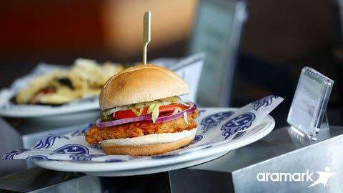 Tennessee -- Nashville Hot Chicken Sandwich