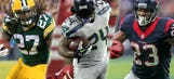 Rock the rock: NFL's top 10 running backs