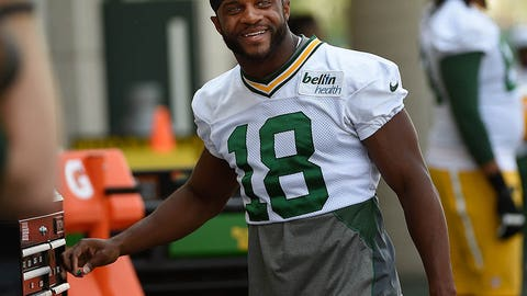 Packers WR Randall Cobb