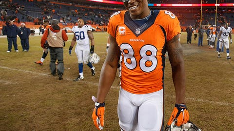 Broncos WR Demaryius Thomas