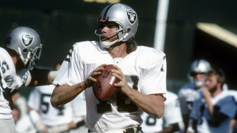 1974 and 2002 – Ken Stabler and Rich Gannon win NFL MVP awards