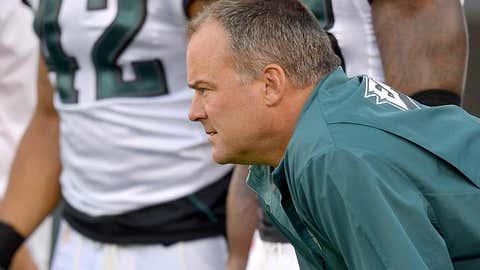 Philadelphia defensive coordinator Billy Davis