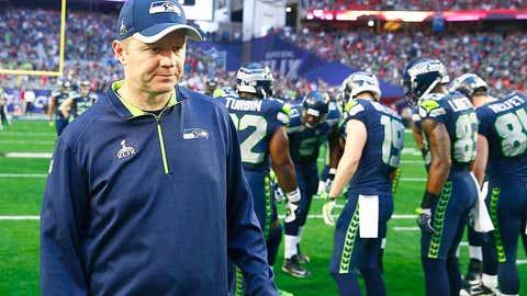 Seattle offensive coordinator Darrell Bevell